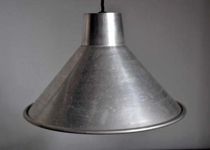 Aluminium factory lamp shades vintro aloadofball Image collections
