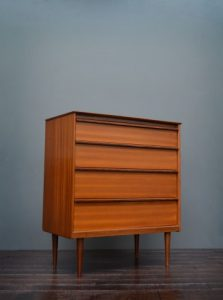 Austinsuite Teak Chest Of Drawers by Frank Guille