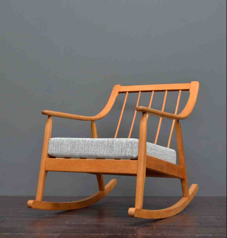 Superb Danish Rocking Chair Vintro Pdpeps Interior Chair Design Pdpepsorg